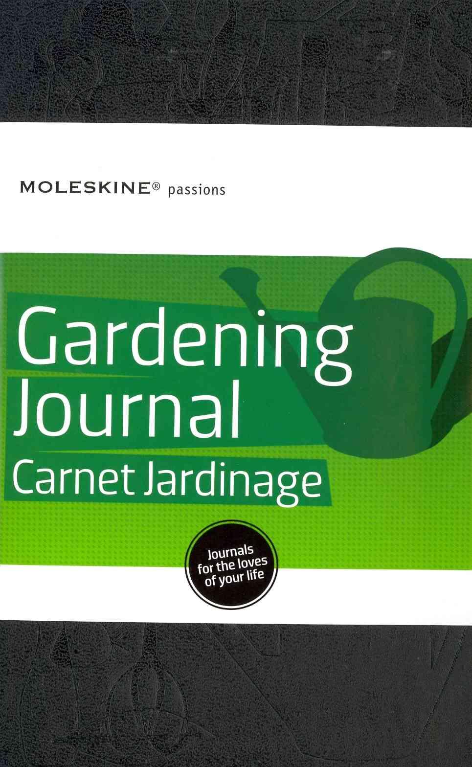 Moleskine Passions Gardening Journal By Moleskine